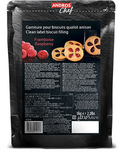 Clean Label Biscuit Filling Raspberry 1kg