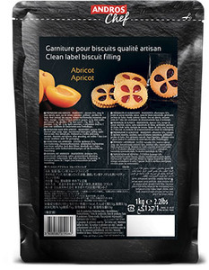 Clean Label Biscuit Filling Apricot 1kg