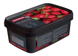 FROZEN STRAWBERRY PUREE 1KG